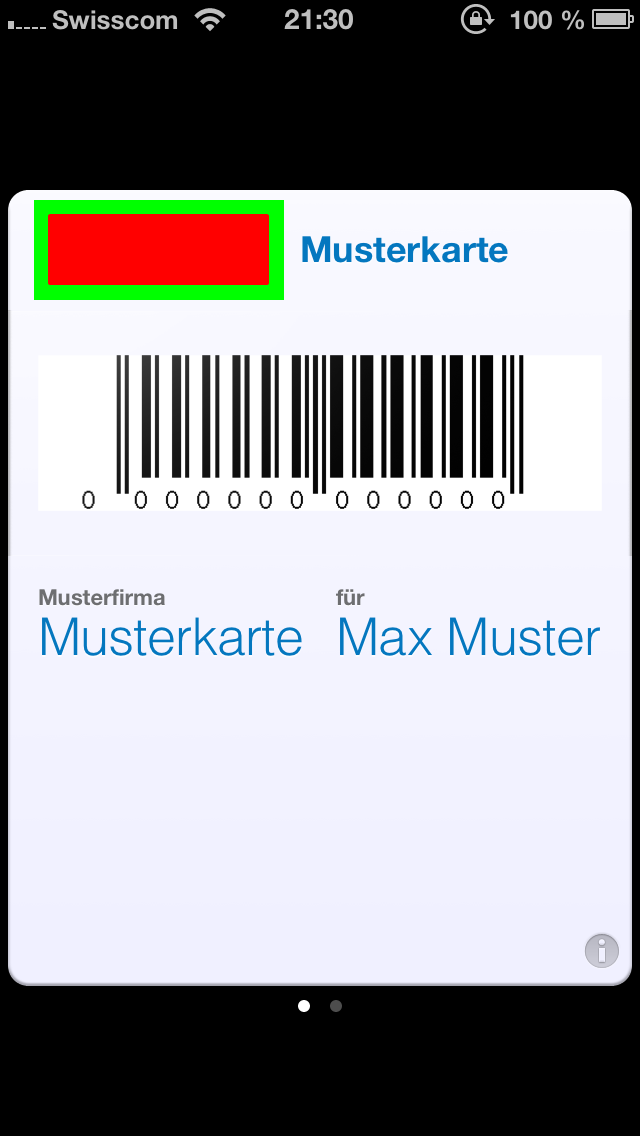 Kundenkarte-Front