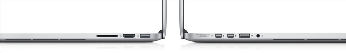 "MacBook Pro 13"" Anschlüsse"
