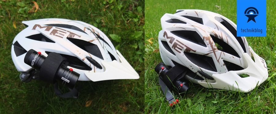 Replay XD 1080 - Montage an Bikehelm