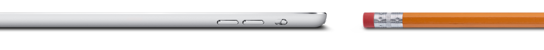 iPad Mini ist sehr dünn