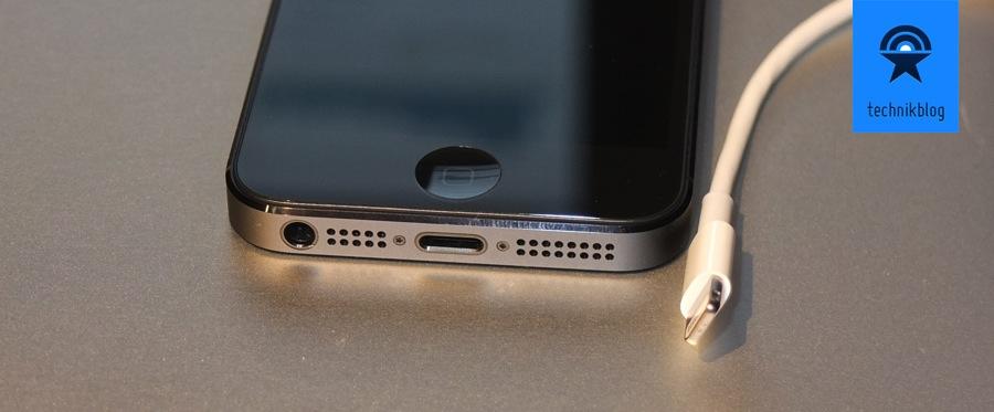 iPhone 5 - Lightning Anschluss