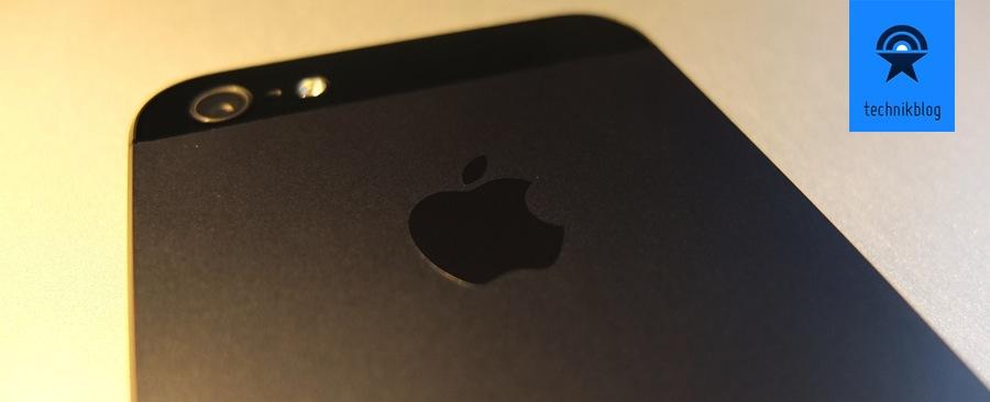 iPhone 5 Review - die schöne Rückseite aus Aluminium