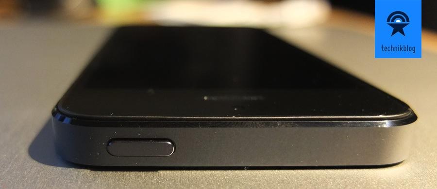 iPhone 5 - neue Kanten im Vergleich zum 4er
