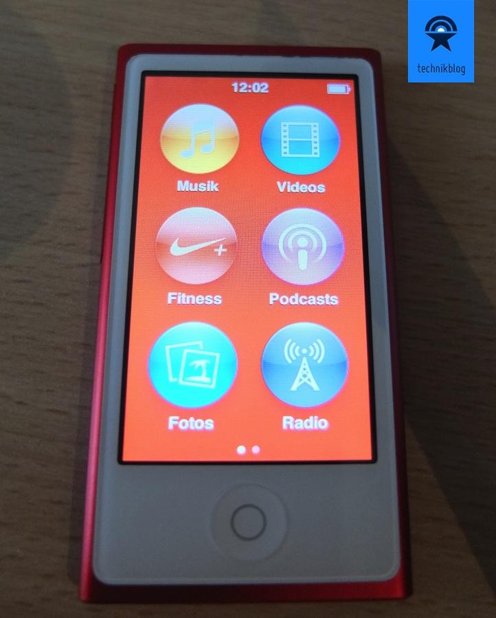 iPod nano - Farben überall