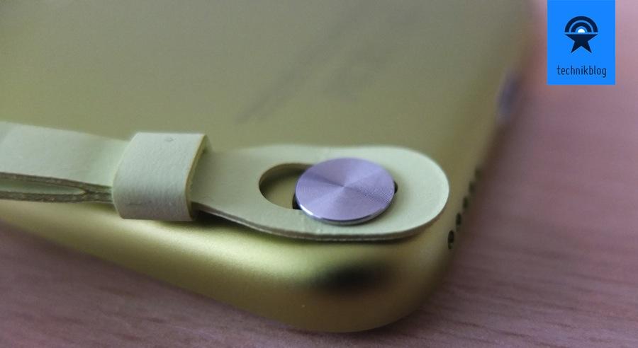 iPod touch - Halterung für das Armbändchen