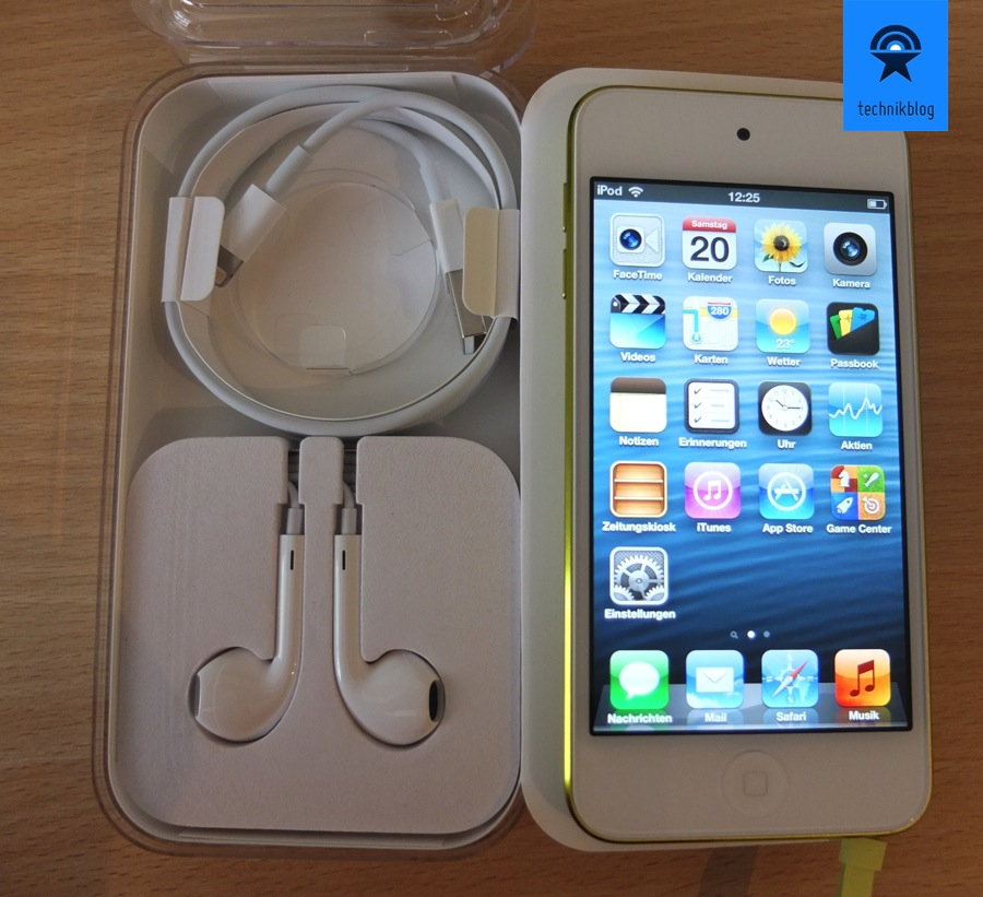 iPod touch - Lieferumfang