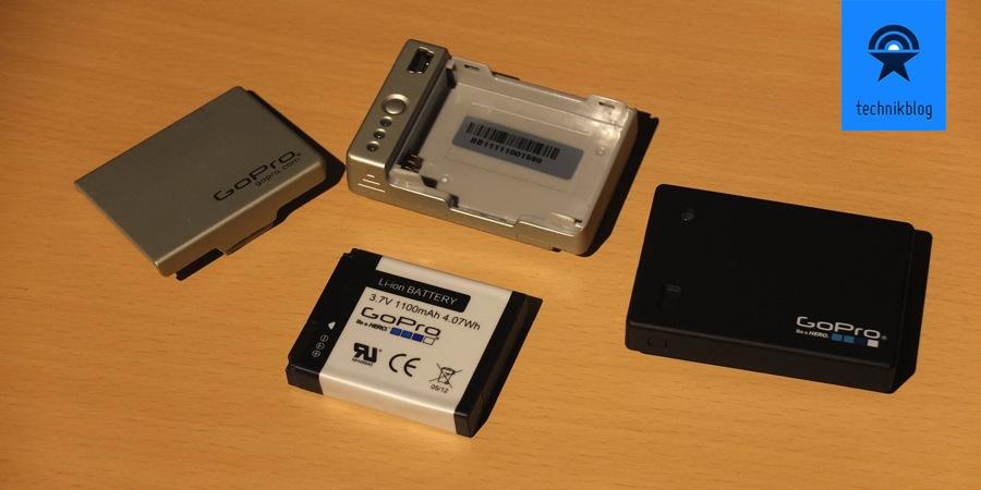 Das alte Battery BacPac hatte einen austauschbaren Akku