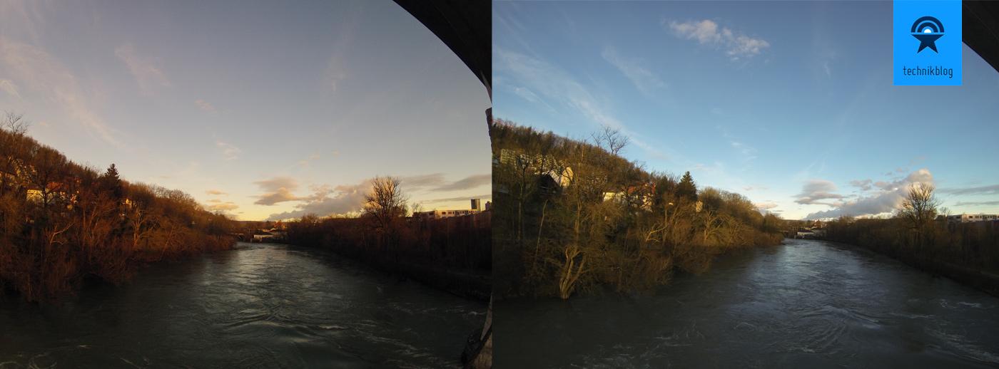 GoPro Vergleich zwischen Hero 2 und Hero 3 Aufnahmen