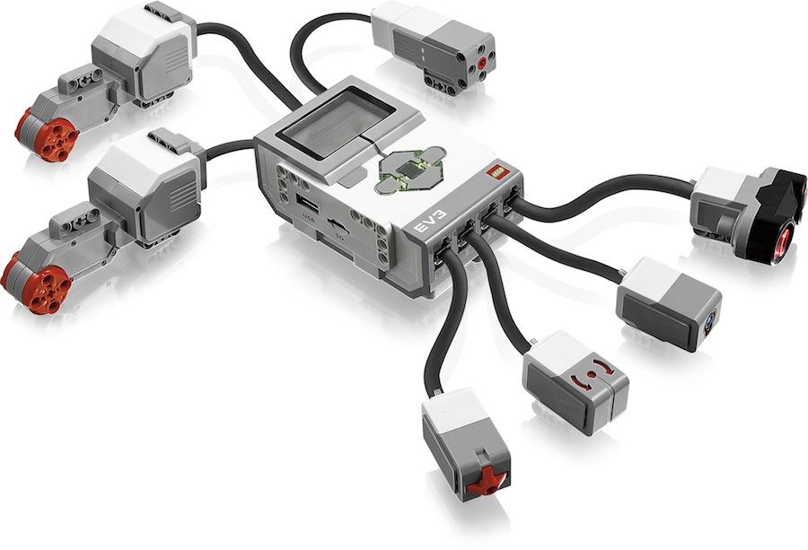 Lego Mindstorms EV3 Brick und Sensoren