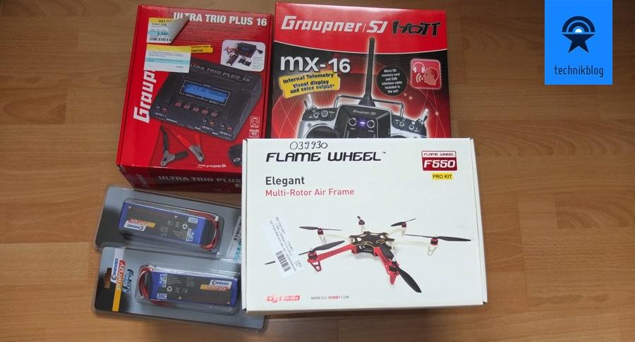 Projekt Multicopter - Ausrüstung