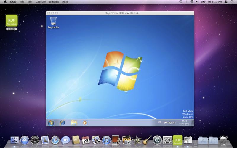 Remotedesktop mit iTap