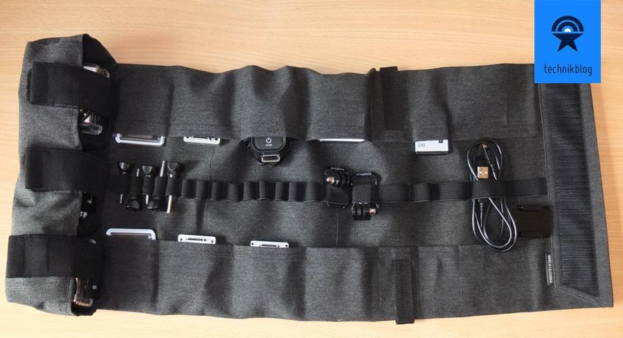 Riseful RollPro III - GoPro Organizer Carrying Case - 3