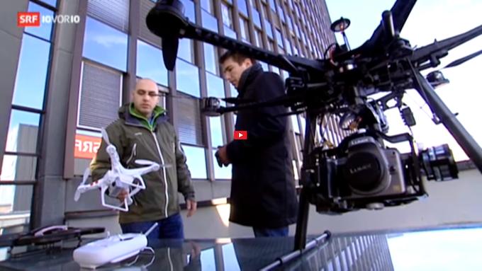 SRF Drohnenvergleich