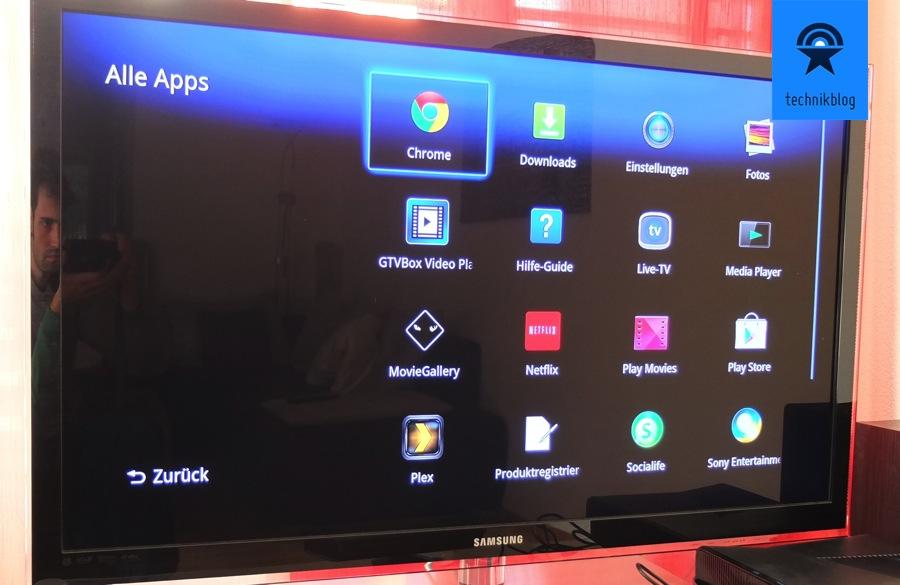 Sony Google TV Fernseher