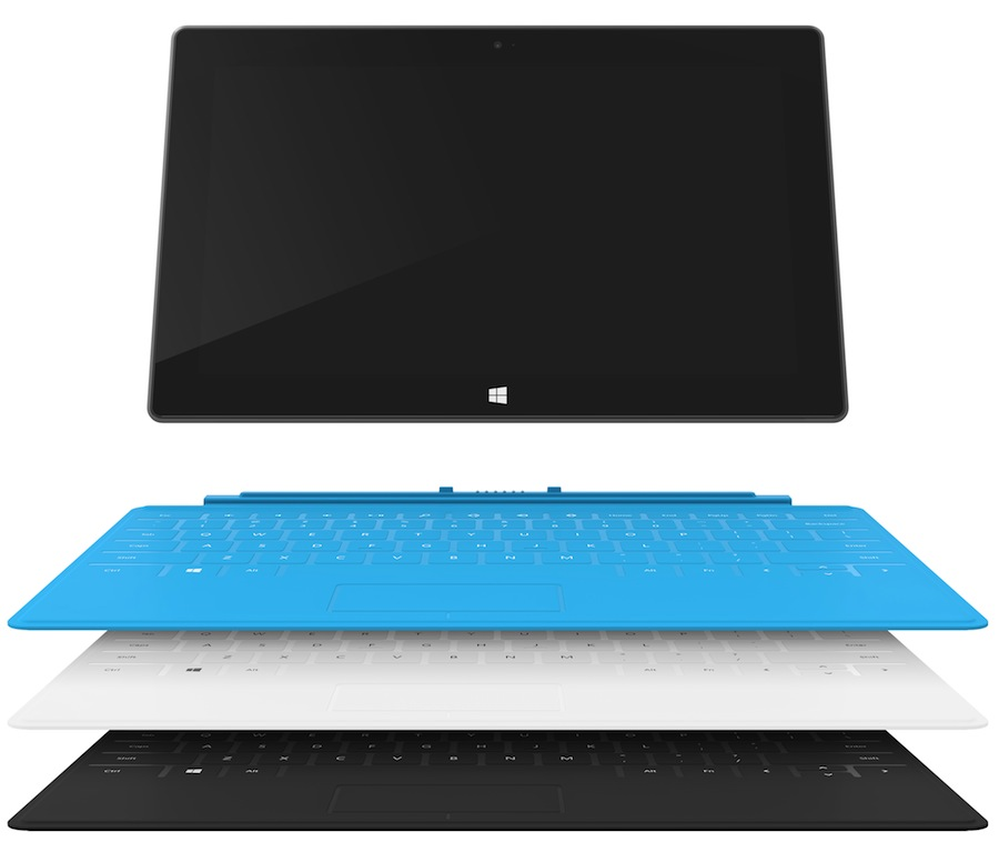 Surface Farbkombinationen