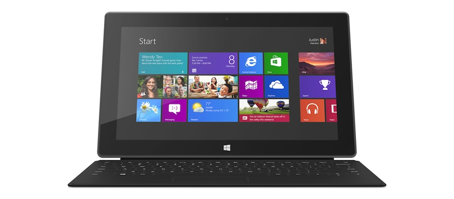 Surface RT Black
