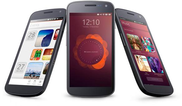 Ubuntu kommt auf das Smartphone