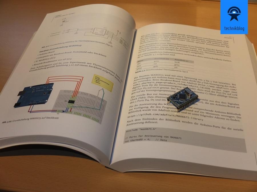 Arduino Praxiseinstieg kommt mit klar erklärten Beispielen und Beschreibung daher
