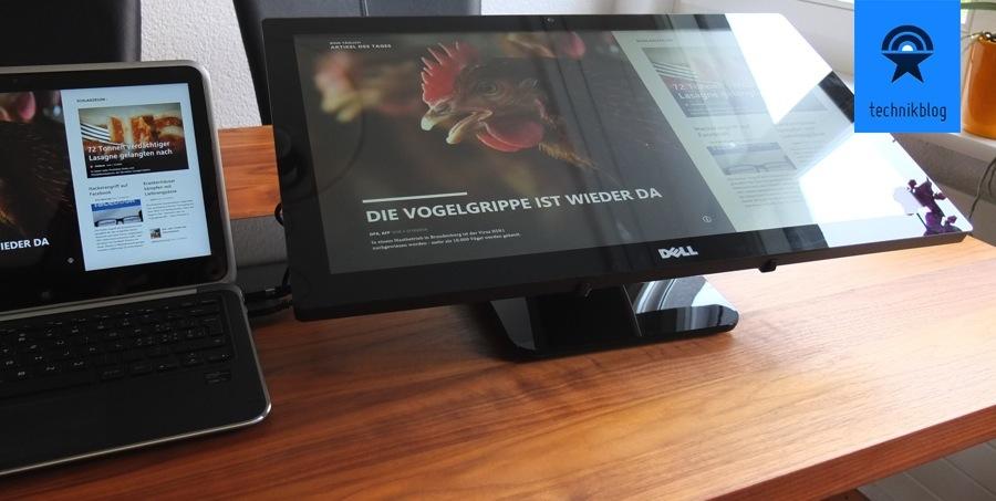 Dell S2340T als Touchbedienelement für Windows 8
