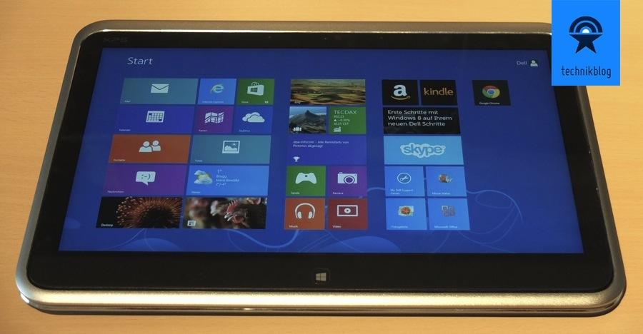 Dell XPS 12 Ultrabook als Tablet