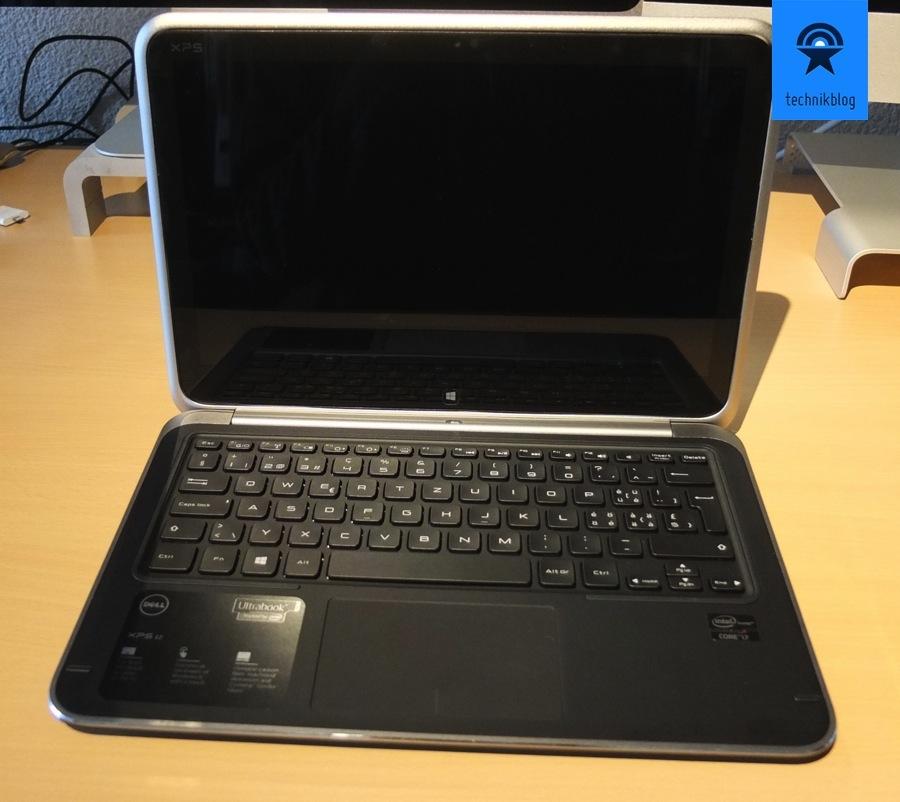 Dell XPS 12 Ultrabook guter Bildschirm und Tastatur