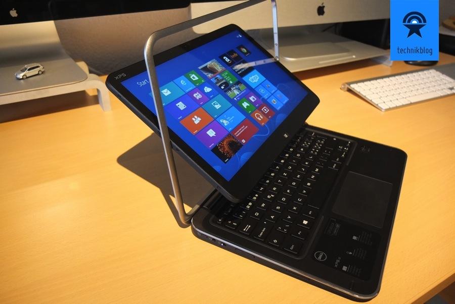 Dell XPS 12 Ultrabook so sieht der Wechsel aus