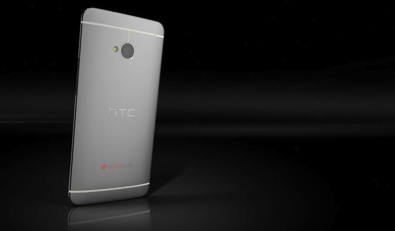 HTC One Rückseite