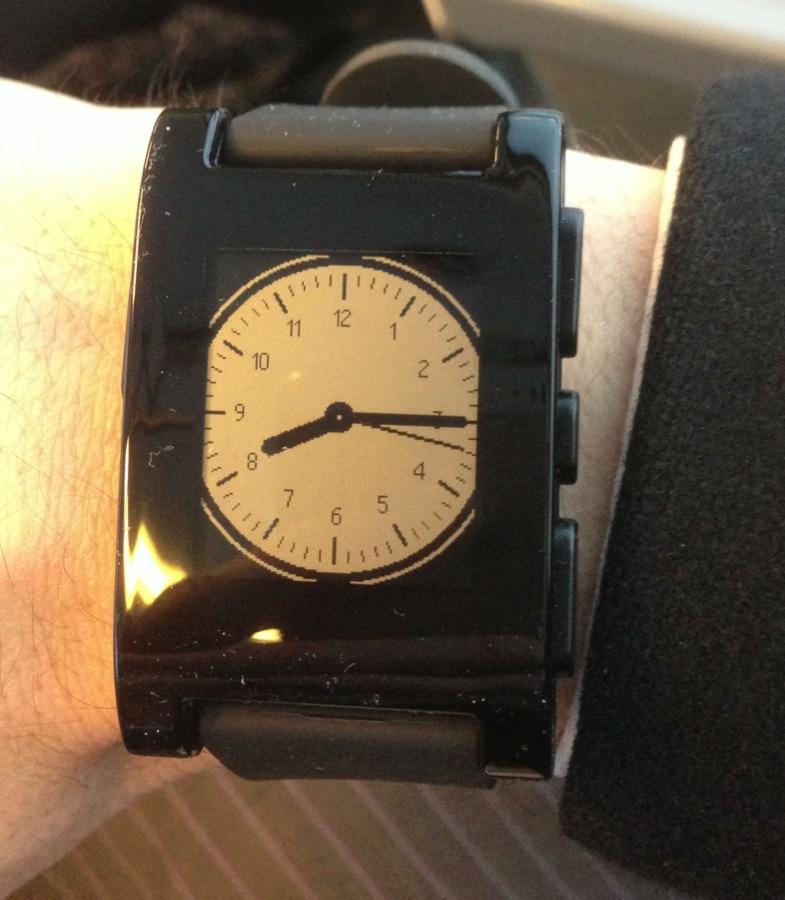 Pebble Smartwatch Classic Analog