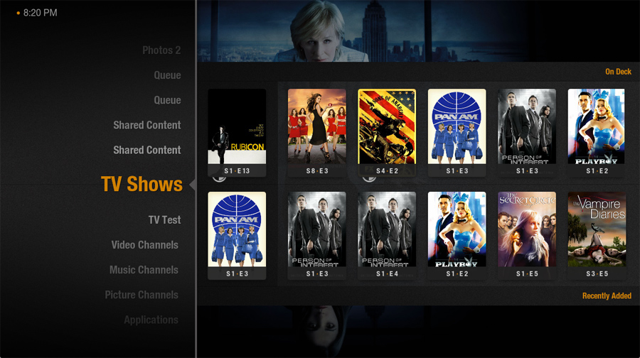 Plex TV Shows Screenshot
