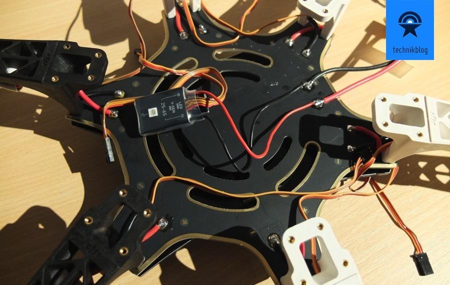 Projekt Multicopter - Zusammenbau - Bestückung