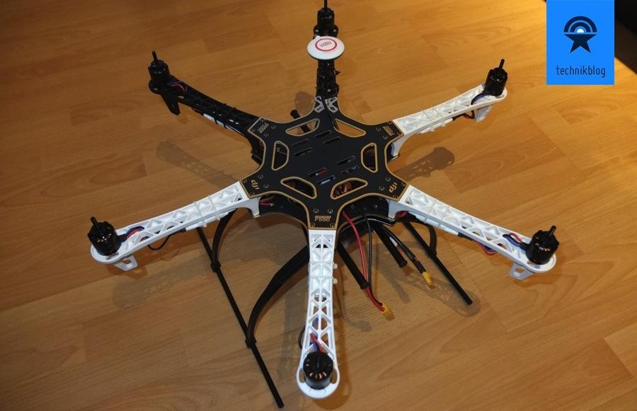 Projekt Multicopter - Zusammenbau