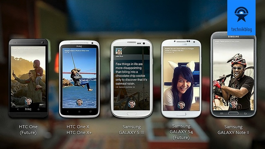 Facebook Home: kompatible Android Devices