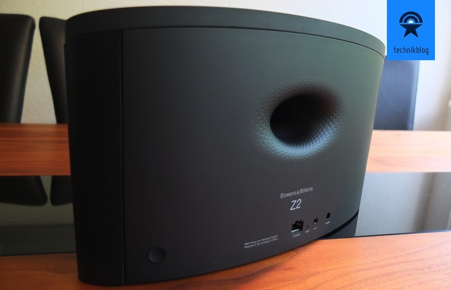 Bowers & Wilkins Z2 Review - Rückseite