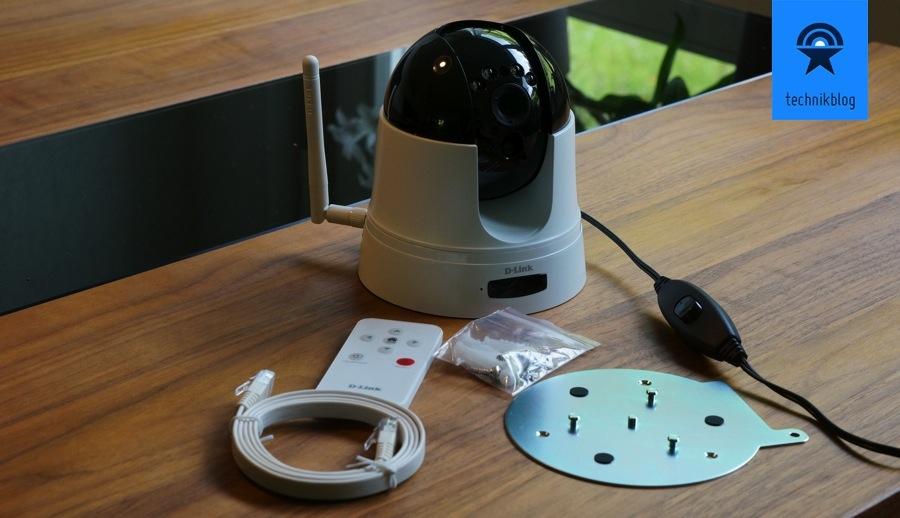 D-Link DCS-5222L Cloud-Kamera Lieferumfang