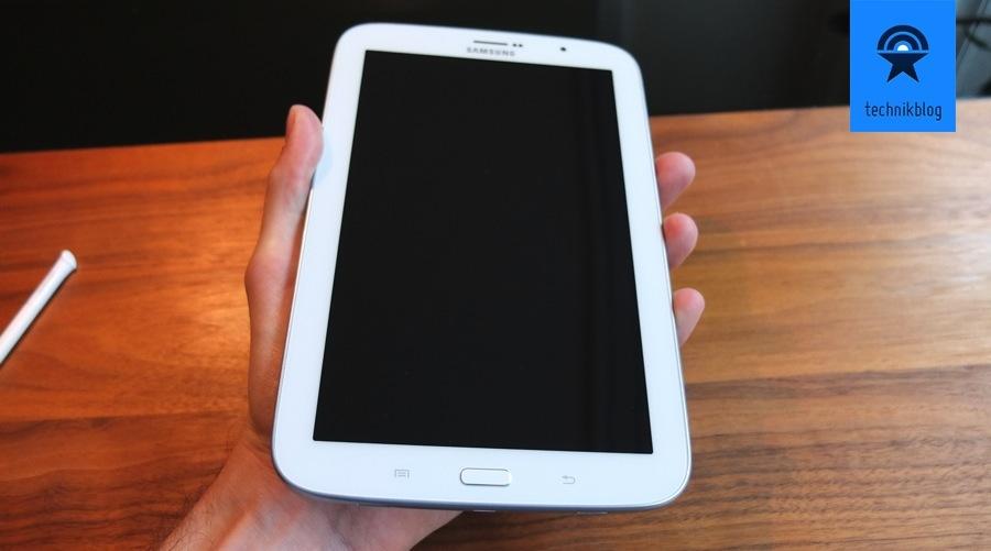 Samsung Galaxy Note 8.0 handlich