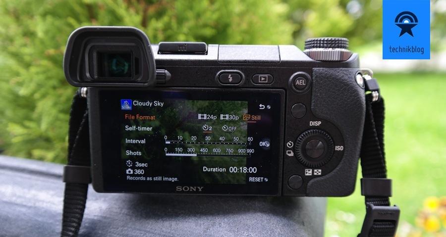 Sony NEX-6 Timelapse