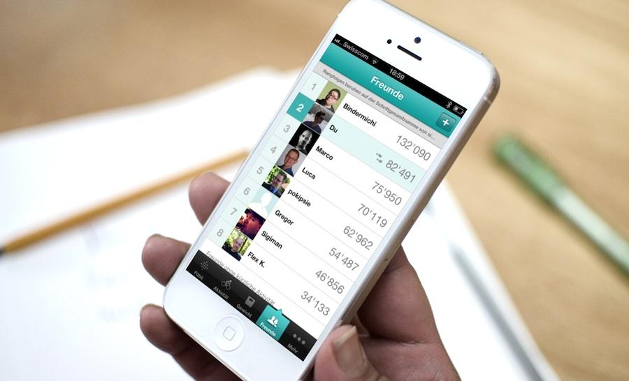 Fitbit Rangliste motiviert mehr zu Laufen (c)breezi.com