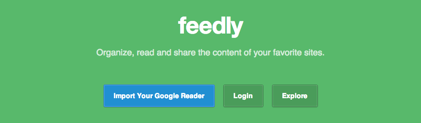 Import Google Reader to Feedly