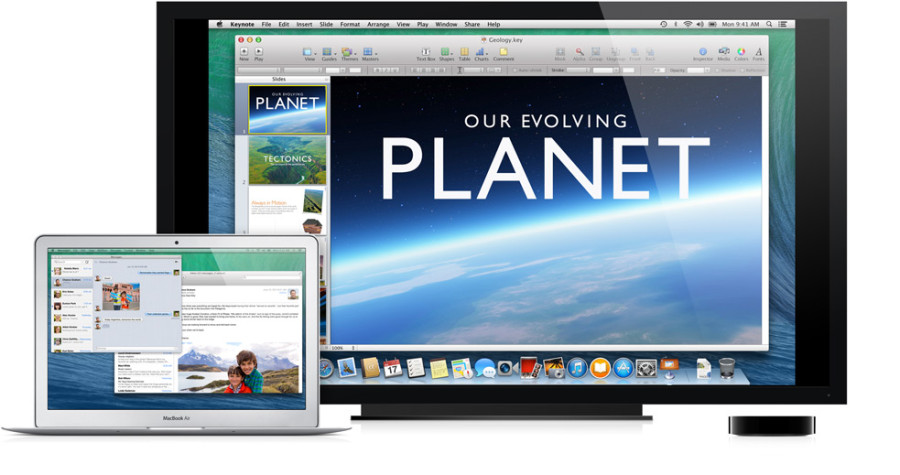 OS X Maverick mit Multi Monitor Lösung über AirPlay