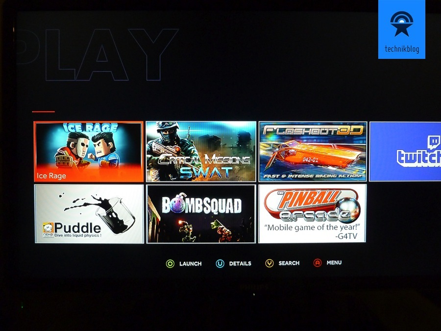 OUYA Screenshot