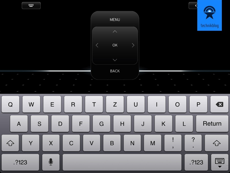 Remote View mit Keyboard