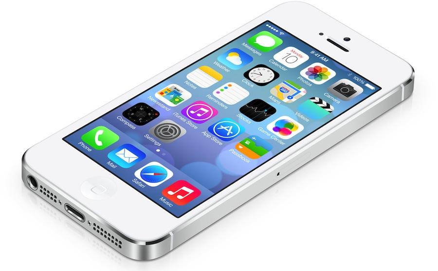 iOS 7 auf dem iPhone 5
