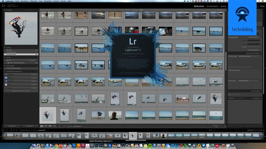 Aobe Lightroom 5 ausprobiert