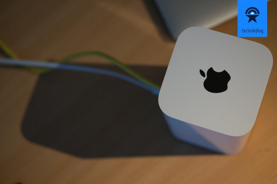 Apple AirPort Time Capsule 2013 im Test