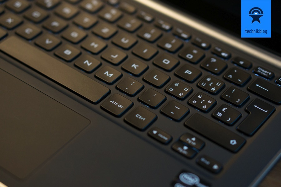 Dell XPS 13 Developer Edition Tastatur