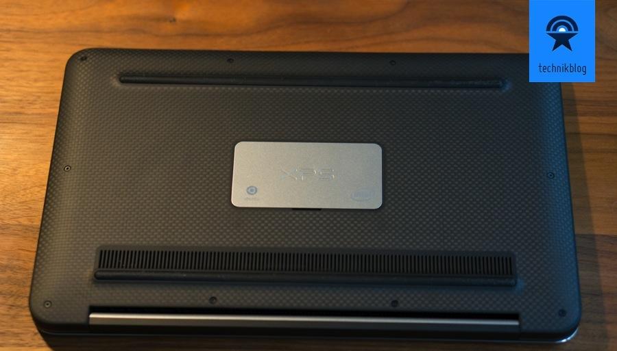 Dell XPS 13 - Unterseite im Carbonlook