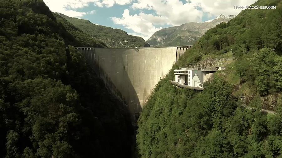 Quadcopter Aufnahme in der Schweiz