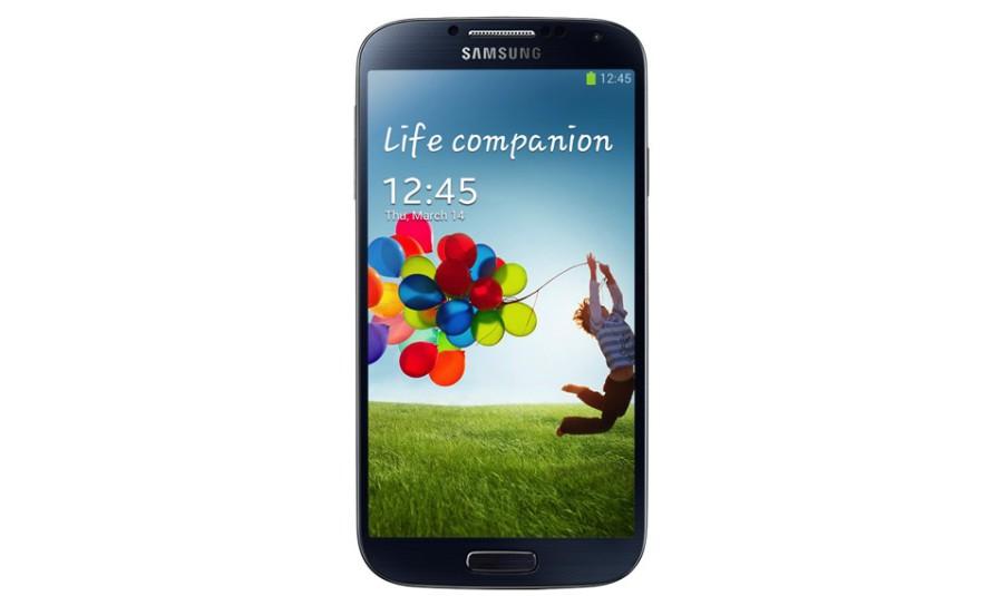 Samsung Galaxy S4 in Schwarz