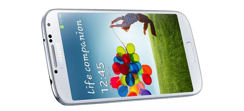 Samsung Galaxy S4 - Weiss