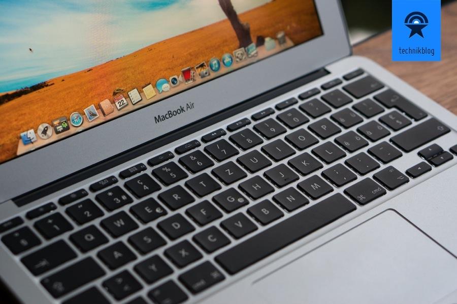 Die Tastatur des MacBook Air ist nach wie vor was vom Besten das ich je getippt habe